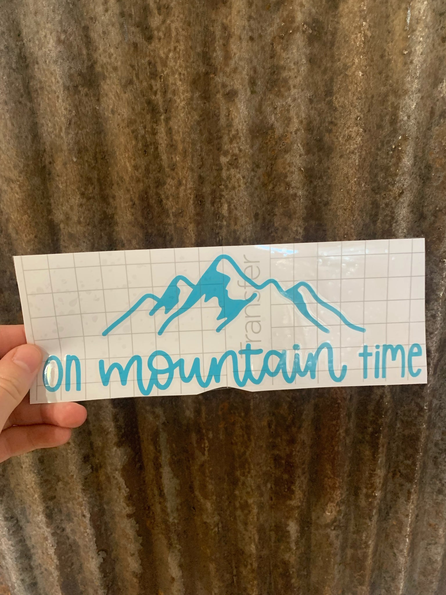 Cadydid Designs On Mountain Time