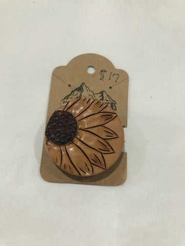 Sunflower Pop Socket