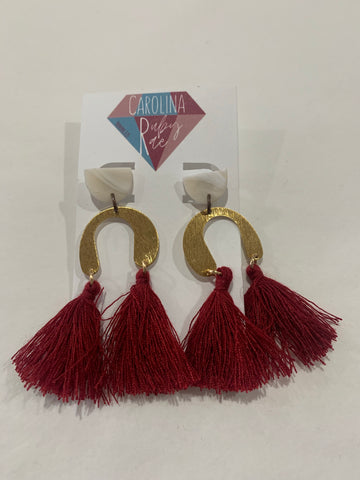 Carolina Ruby Rae Earrings