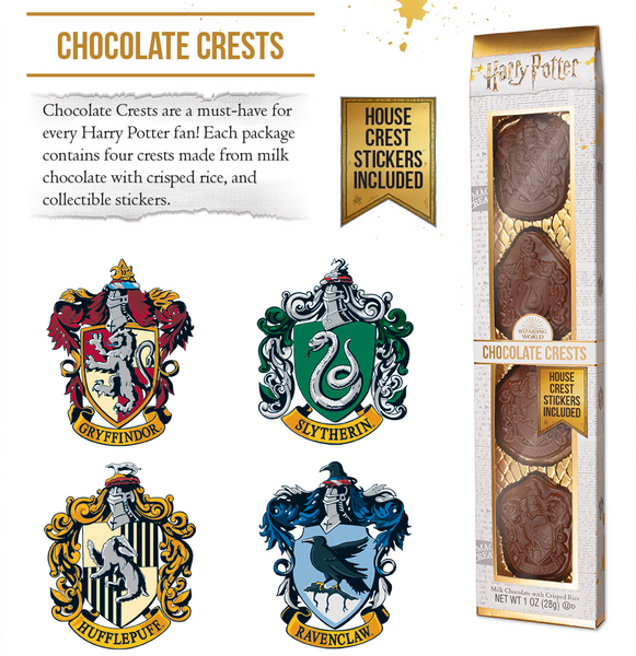 New Chocolate House Crests