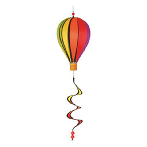 12 in. Hot Air Balloon - Rainbow