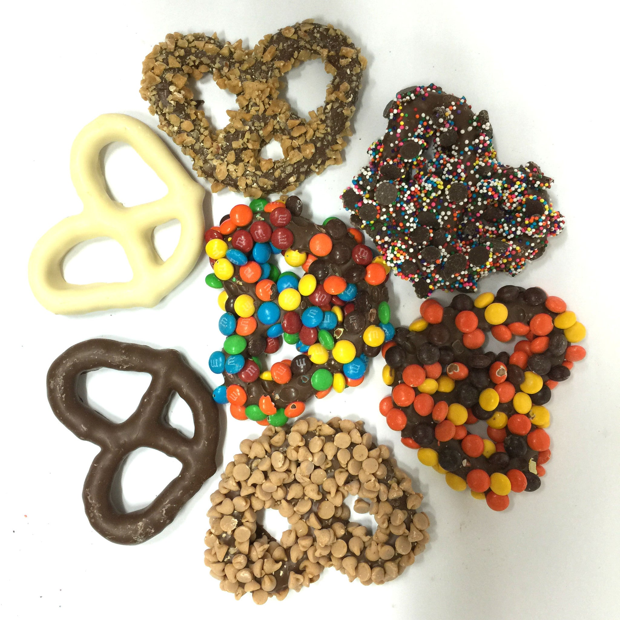 Assorted Chocolate Dipped Pretzels – Snyder's Candy