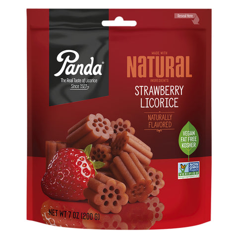 Panda® Original All Natural Soft Strawberry Licorice - 7 oz.