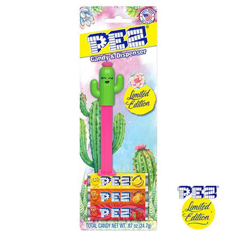 *LIMITED EDITION* PEZ® Blister Pack - Happy Cactus (Girl)