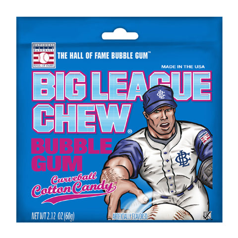 Big League Chew® Bubble Gum: Curveball Cotton Candy™ - 2.12 oz.