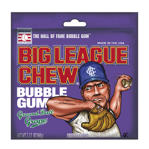 Big League Chew® Bubble Gum: Ground Ball Grape™ - 2.12 oz.