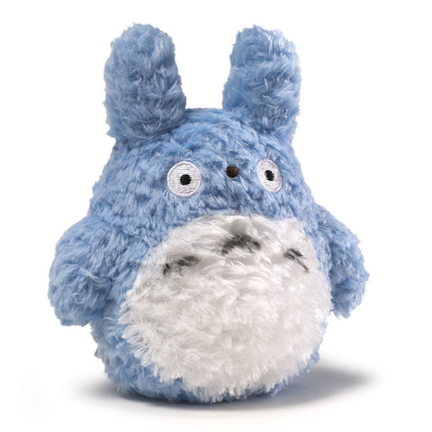Fluffy Blue Medium Totoro 5.5""