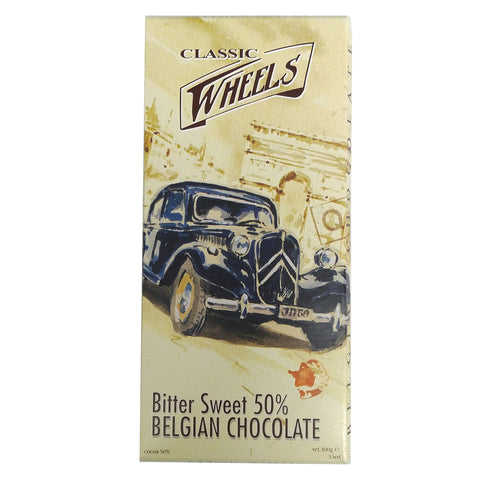 Classic Wheels Belgian Chocolate - 50% Bitter Sweet