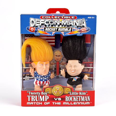 Wild Hair Creations Collectibles - ROCKET RUMBLE™ DEFCON MANIA™