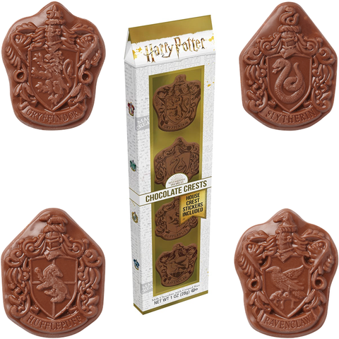 Harry Potter™ by Jelly Belly - Chocolate Hogwarts House Crests - 1oz.