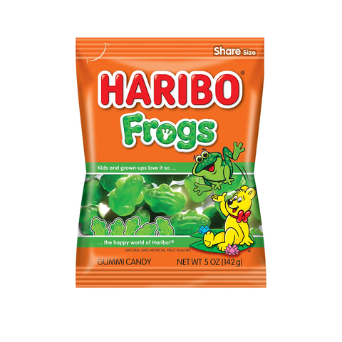 Haribo® Frogs - 5oz.