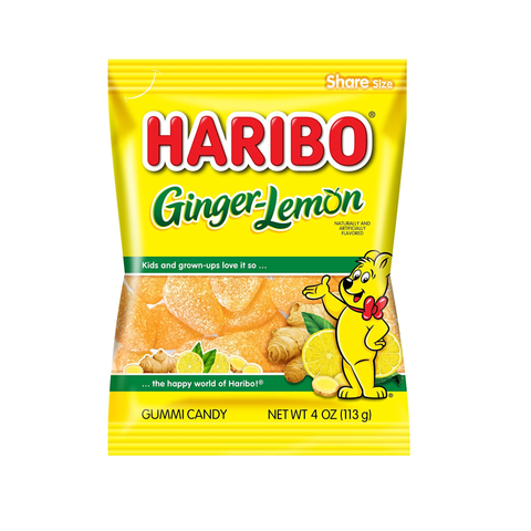 Haribo® Ginger-Lemon - 4oz.