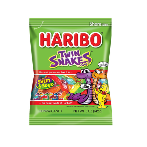 Haribo® Twin Snakes® - 5oz.