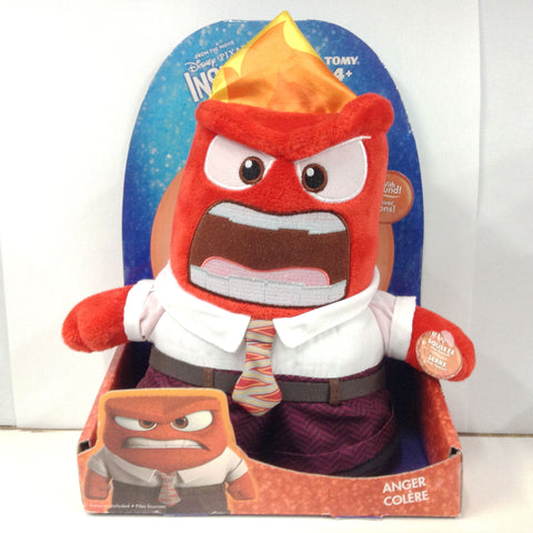 Inside Out Talking Plush - Anger