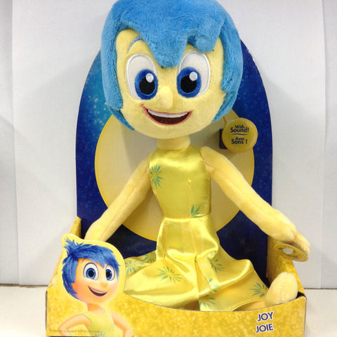 Inside Out Talking Plush - Joy