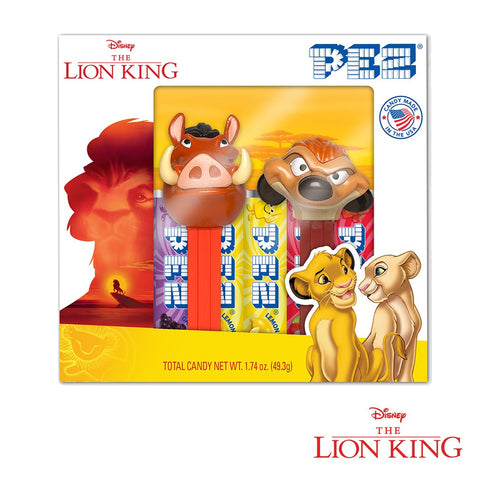 PEZ® The Lion King - Gift Set (Timon & Pumba)