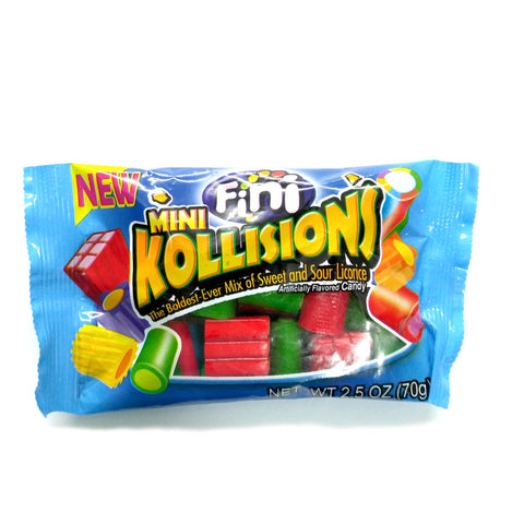 Spanish Licorice Mini Kollisions 2.5 oz.