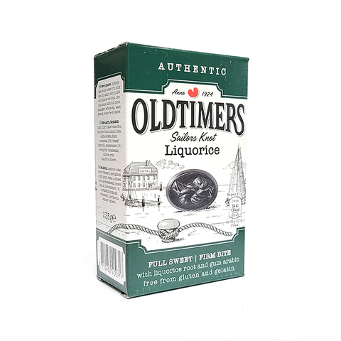 Authentic OldTimers - Sailor Knot Licorice - Full Sweet / Firm - 9 oz.