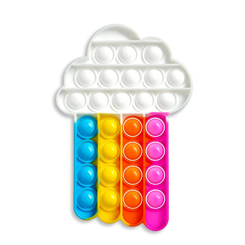 OMG Pop Fidgety - Rainbow Shower (Cloud w/ Rainbow)