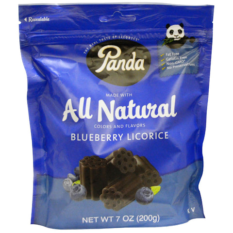 Panda® Original All Natural Soft Blueberry Licorice - 7 oz.