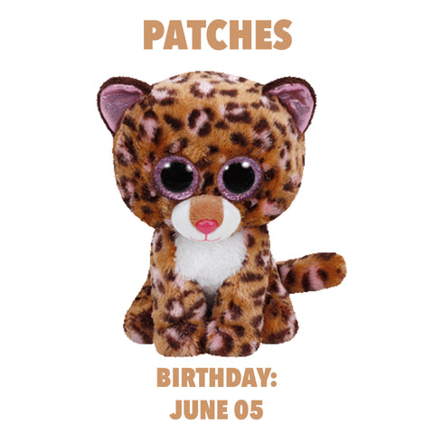 Ty Beanie Boos - Patches