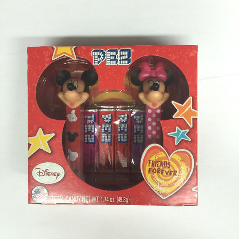 Disney's Mickey & Minnie Mouse Forever Friends Pez Set