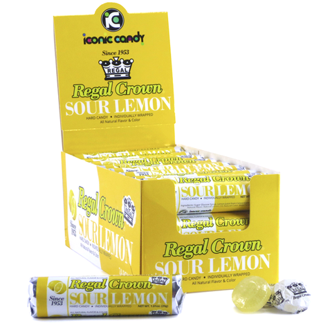 Regal Crown® - Sour Lemon 1.01 oz. Rolls