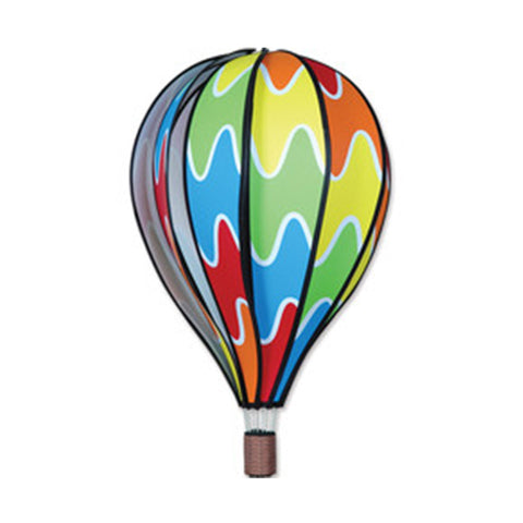 22 in. Hot Air Balloon - Rainbow