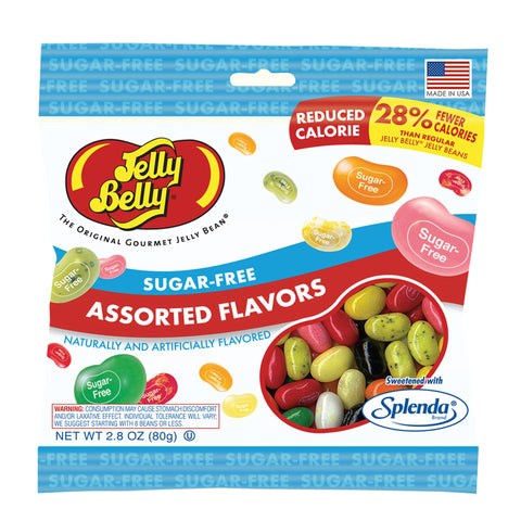 Sugar Free Assorted Jelly Belly (2.8oz bag)