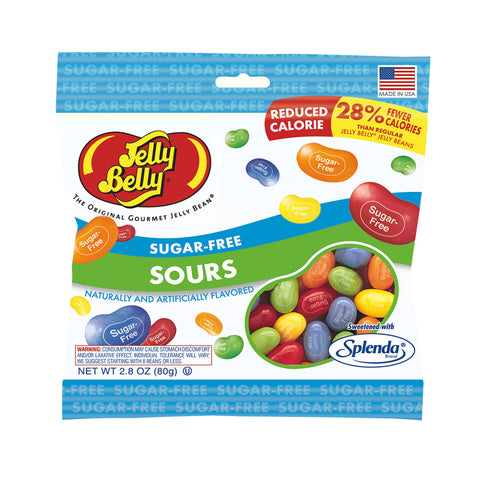 Sugar Free Sour Jelly Belly (2.8oz bag)