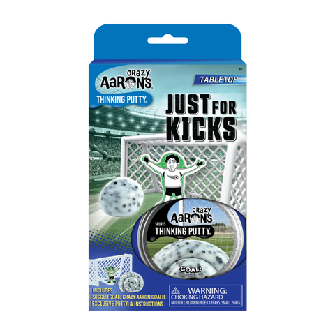 Crazy Aaron's® Tabletop - Just For Kicks, Goal! Thinking Putty®