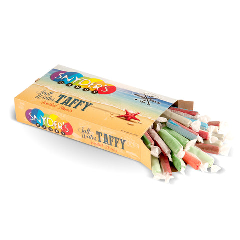 Assorted Taffy Sticks Box