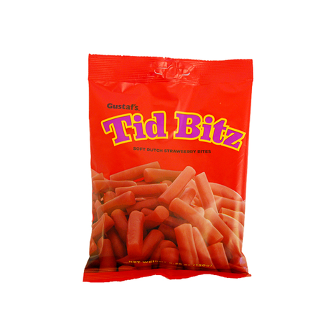 Finnish Strawberry Licorice Tid Bitz 5.2 oz.