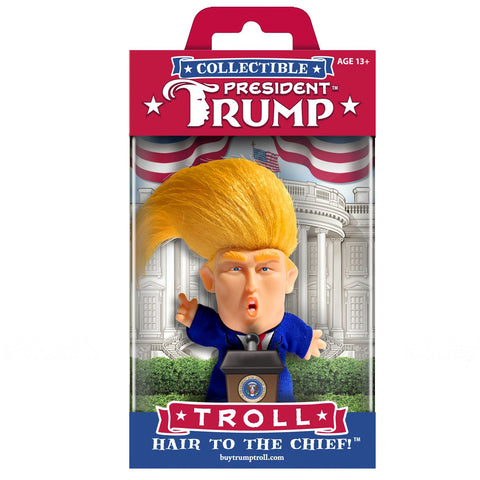 Wild Hair Creations Collectibles - HAIR TO THE CHIEF™ President Trump Troll