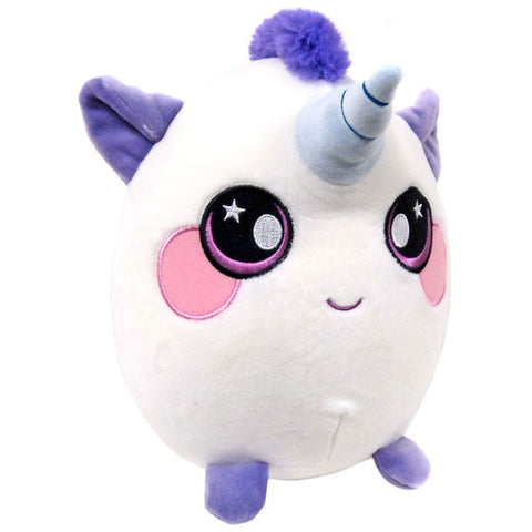 "Squeezamals Pet Series - Ula the Unicorn 8"" Plush"