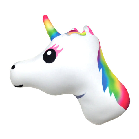 iscream - Emoji Unicorn Microbead Pillow