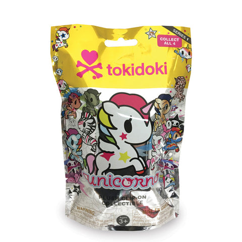 TokiDoki - Unicorno Plush Clip-On Keychain - Series 1 Collectible Blind Pack