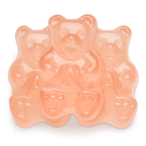 Albanese Pink Grapefruit Gummi Bears - NOT AVAILABLE UNTIL 2020