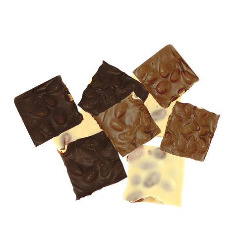 Almond Bark (Milk, Dark and White)