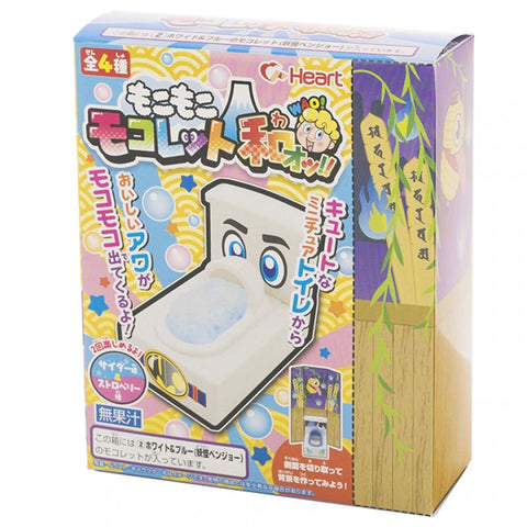 *NEW* Heart Mokomoko Japanese Style Toilet Wao DIY Kit, 0.28 oz