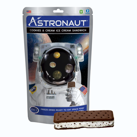 Astronaut Foods Freeze-dried Ice Cream - Cookies & Cream