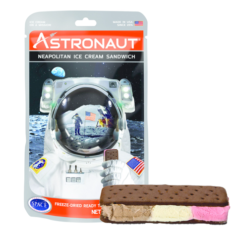 Astronaut Foods Freeze-dried Ice Cream - Neapolitan