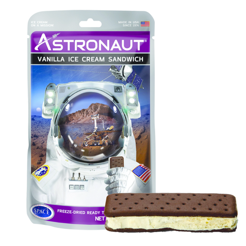 Astronaut Foods Freeze-dried Ice Cream - Vanilla