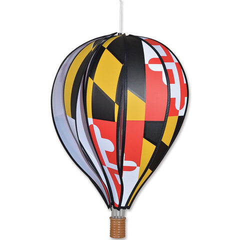 22 in. Hot Air Balloon - Maryland Flag