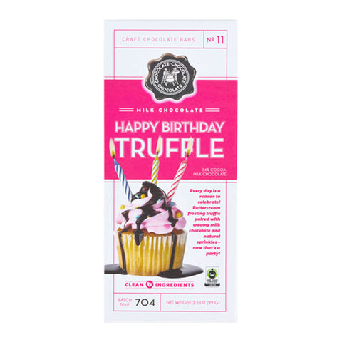 Happy Birthday Truffle Bar - #11