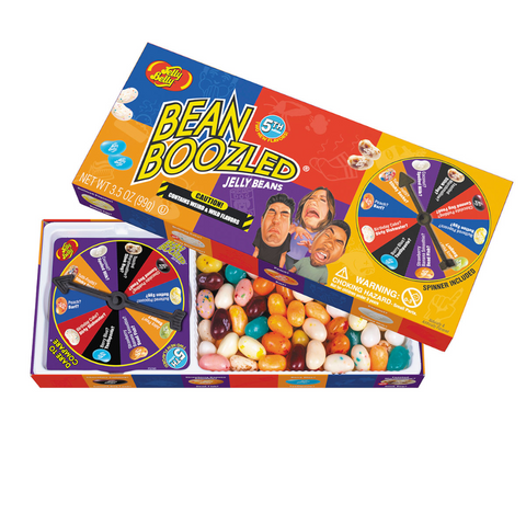 Jelly Belly® Bean Boozled® Jelly Beans - 5th Edition Gift Box Spinner Game (3.5 oz.)