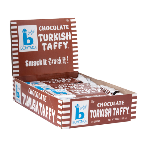Bonomo Turkish Taffy - Chocolate (1.5 oz.)