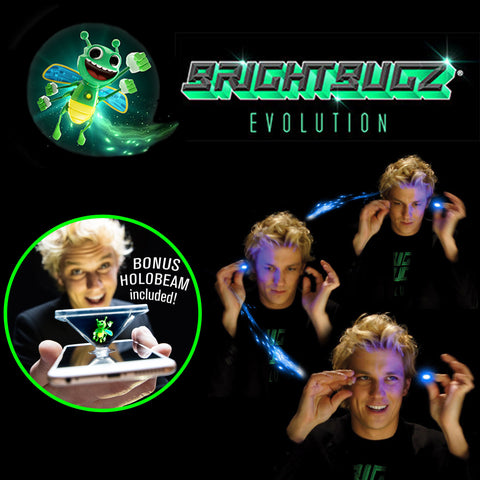 Bright Bugz® EVOLUTION - Magical Glow in the Dark Sticks
