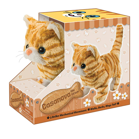 Casanova the Kitten - Battery Operated Animatronic Pet