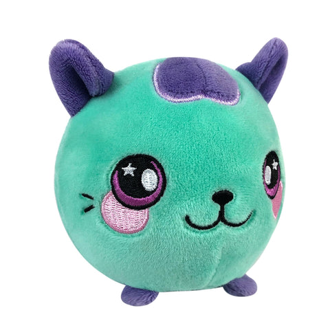 "Squeezamals Pet Series - Cassie the Cat 3.5"" Plush"